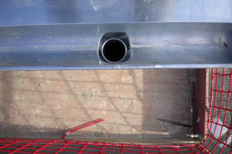 Terrassensanierung, Kesseleinbindung in Rheinzink Rinne